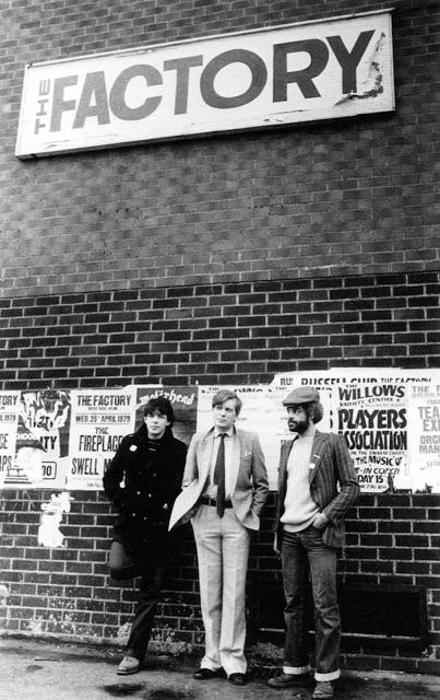Peter Saville - Tony Wilson - Alan Erasmus - 1979