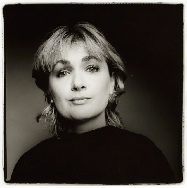 NPG x127786; Caroline Aherne by Fergus Greer